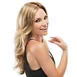 Blonde Color Long Syntheic Wave  Wig
