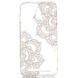Lace Two Flower Pattern TPU Case for  Asus Zenfone GO ZC500TG
