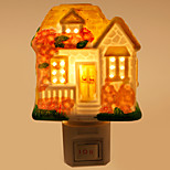 Creative Design Cottage-shaped Ceramic Lamp Night Light Bedside Lamp Fragrance Festival Gift