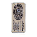 Windbell Restoring Ancient Ways Pattern Transparent Phone Case Back Cover Case for iPhone6/6S