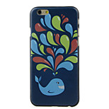 Small Whale Pattern  Hard Case for iPhone 6/6S