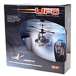 Yu Hang HM0710 Mini Remote Control Flying UFO Black