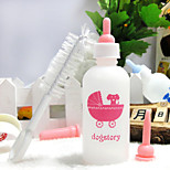 Pet Bottles The Cat And Dog The Rabbit Baby Bottles 60ML(Four-Piece Suit)