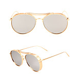 100% UV400 Aviator  Fashion Punk Mirrored Sunglasses