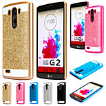 Shinning Case Glitter Cell Phone Back S Line Cover For LG G2 (Assorted Colors)