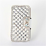 Luxury Bling Crystal & Diamond Leather Flip Bag cases For iPhone 6 (Assorted Color)