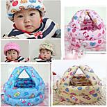 bebê capacete de segurança Headguard não-choques protetor de cabeça ajustável (cor aleatória)