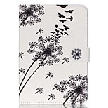 Dandelion  Pattern PU Leather Full Body Case with Stand for iPad Mini 3/2/1