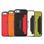 multicolor en relieve de cuero pasta de cáscara del teléfono para el iphone 5 / 5s (color clasificado)