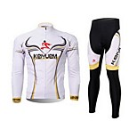KEIYUEM®Others Unisex Long Sleeve Spring / Winter Cycling Clothing Suits TightsWaterproof / Breathable / Quick Dry /