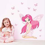 Cartoon Children's Room Bedroom Backdrop Stickers Wall