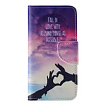 The New Love PU Leather Material Flip Card Cell Phone Case for iPhone 6 /6S