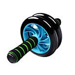 Silent Wheeled Abdominal Wheel Abs Round Thin Abdominal Abdominal US 1cm Thick With Anti-Slip Mat Random Color