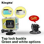 mergulho Kingma câmera yi Xiaomi original é impermeável caso 40m ostenta caixa à prova d'água com bastão de selfie adaptador de montagem