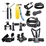 Basic Common Outdoor Sports Kit Accessories for All Gopro Hero4s 4 3+ 3 Sj4000 Sj5000 Sj6000 Sports Camera