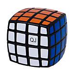 QJ 4 Layers Magic Cube Bread Type Cube (Black Edge)