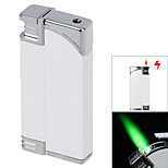 Windproof Lighter - White Charged Are Tricky