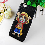 Wacky Anime Pattern Glitter Hard Back Cover Case for iPhone6/6S