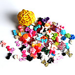 100Pcs A Variety Of Manicure Resin Jewelry Random Mix Of Stock
