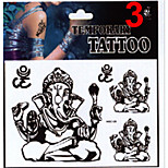 Temporary Tattoos Stickers Non Toxic Glitter Waterproof Multicolored Glitter 1 Package Rose