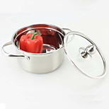 More Stainless Steel Hot Pot Soup Pot Induction Cooker Alcohol Furnace 14 Cm Pot