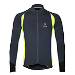 WEST BIKING® Spring Male Perspiration Wicking Long-Sleeved Stretch Jersey Tunic Cycling Wear