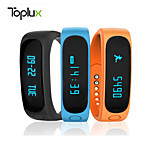 Toplux E02 intelligent bracelet waterproof sports pedometer bluetooth test sleep touch-screen android new ios