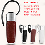 Wireless Bluetooth V4.0 Headset EarHook Style Stereo Earphone with Mic for iPhone Samsung CellPhone Tablet PC