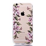 casos de flores borboleta retro para iphone 6 plus / 6s mais iphone (cores sortidas)