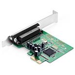 Shengwei® PEC-2021 PCI-E to DB25 Port Board MosChip MCS9901 Use for Printer WIN98/Me/XP/Server2003/Vista/7/8/10