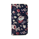 Colorful Rose PU Leather Wallet Full Body Case for iPod Touch 5/6