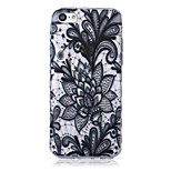 Flower Pattern Waves Slip Handle TPU Soft Phone Case for iPhone 5C