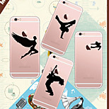 MAYCARI®Loving Sports Soft Transparent TPU Back Case for iPhone5/iPhone5s(Assorted Colors)