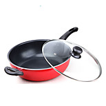 28 Cm Flat Titanium Frying Pan General Cooking Pot Induction Cooker Non-stick Pancake Maker Pan