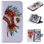 conception spéciale nouveauté cas folio cuir PU coloré dessin ou modèle étui pour iPhone 5 / 5s