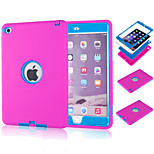 Special Design Novelty Silicone PC Back Case Diamond for iPad Mini 4(Assorted Colors)