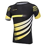 Men's Cycling Tops Short Sleeve Bike Autumn Breathable / Ultraviolet Resistant / Sweat-wicking / Compression