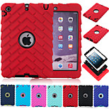 Special Design Novelty Silicone PC Back Case for iPad Mini 3/2/1 (Assorted Colors)
