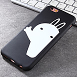 Super Popular Brands High-Grade White Rabbit TPU Soft Phone Case for iPhone 6/6S