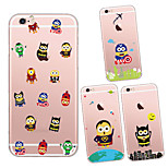MAYCARI®Various Mr.Minions Soft Transparent TPU Back Case for iPhone5/iPhone5s(Assorted Colors)