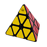 QJ Pyramid Magic Cube Ball Locate Triangle Cube (Black Edge)