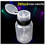 1PCS 200ml Super Thick And Durable Leakproof Nail Bottle Pressure Bottle