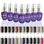 1 PCS ANA 192 Colors Gelpolish Nail Art Soak Off UV Nail Gel Polish 15ml 73-96