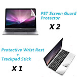 Metal Rest Protective Film and Touch Panel Membrane + Protective Clear Screen Guard for 12