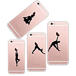 MAYCARI®Talent Show of Gymnastics Transparent TPU Back Case for iPhone5/iPhone5s(Assorted Colors)
