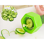 Spiral Cucumber Slicer Cucumber Mask Pencil Sharpener Cooking Knife Random Color