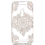 Lace Flowers Hollow Pattern TPU Case for Asus Zenfone 2 Laser ZE550KL (5.5 inch)