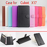 Flip Leather Magnetic Protective Case For Cubot X17(Assorted Colors)