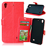 Crazy Horse Flip PU Leather Case Cover with Card Slots for Huawei Ascend G620S / Honor 4 Play (Assorted Color)