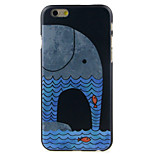 Elephant head Pattern  Hard Case for iPhone 6/6S